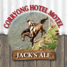 Jack's ale now available on tap!